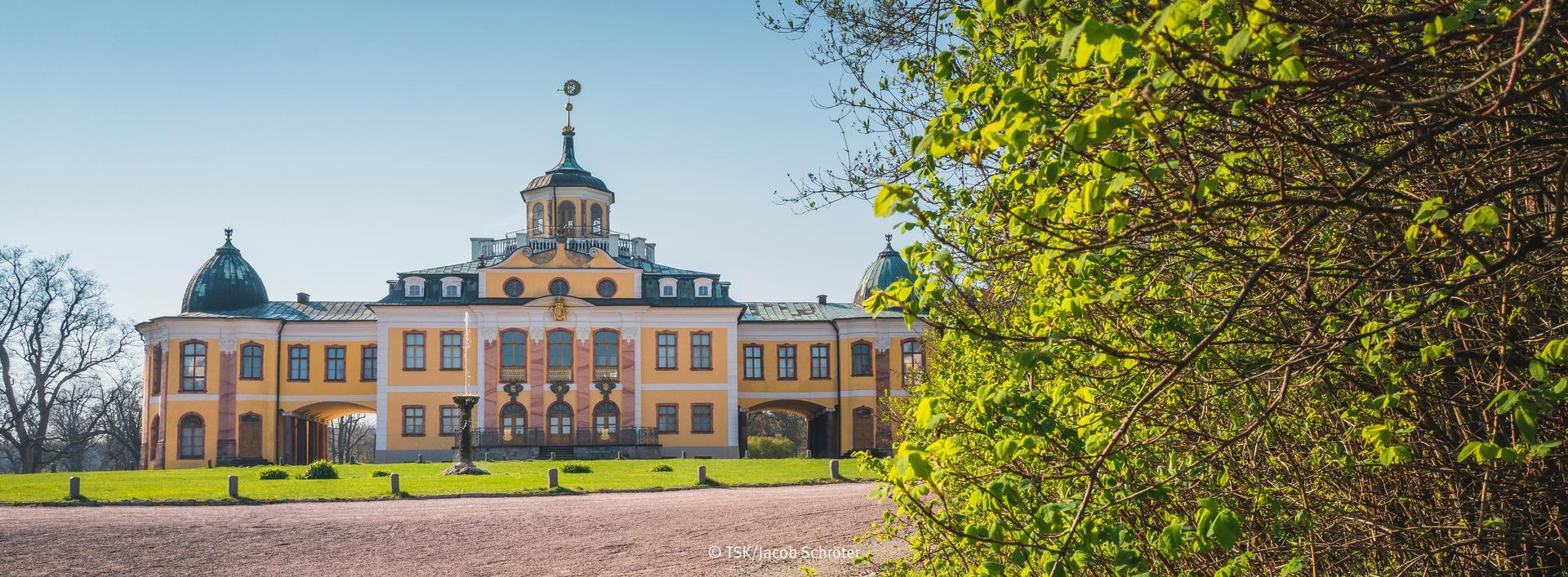Schloss Belvedere in Weimar.